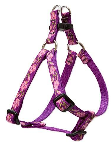 LupinePet Rose Garden Step in Harness for Small Dogs 12 by 12-18