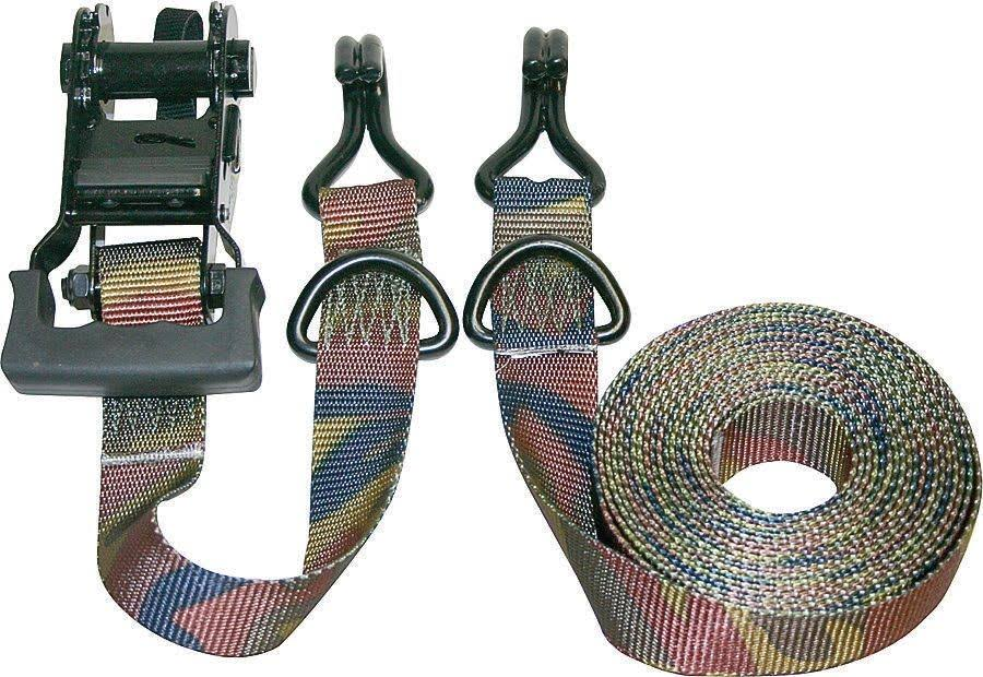 Keeper Ratchet Tie Down - Camouflage, 16ft x 1-1/4""