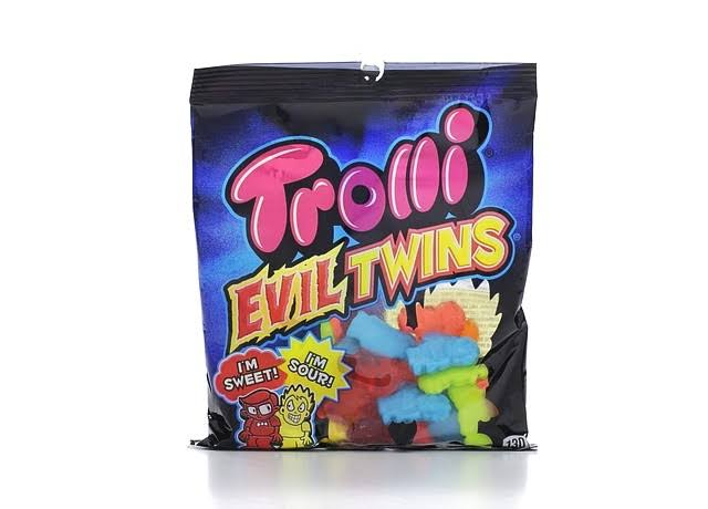 Trolli Evil Twins Gummies Candy - 4.25oz