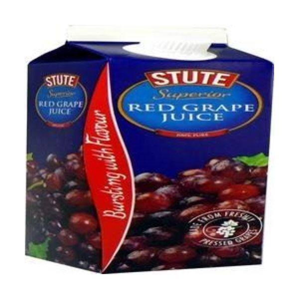 Stute Superior Red Grape Juice - 1l