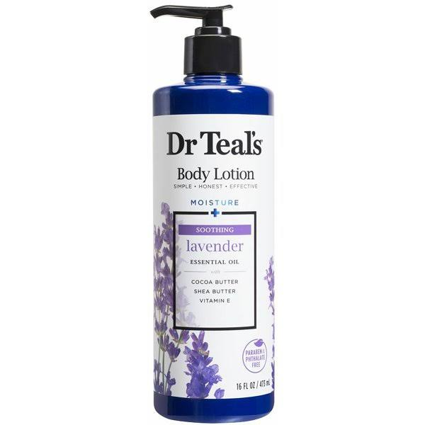 Dr Teal's Body Lotion - Lavender, 16oz