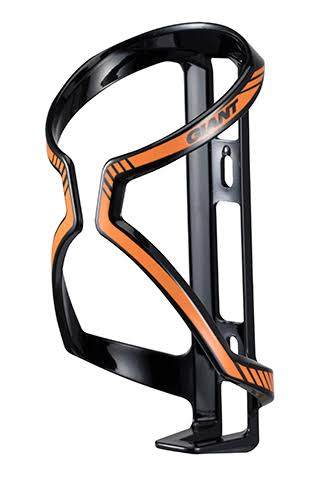 Giant Airway Sport Water Bottle Cage - Black/Orange
