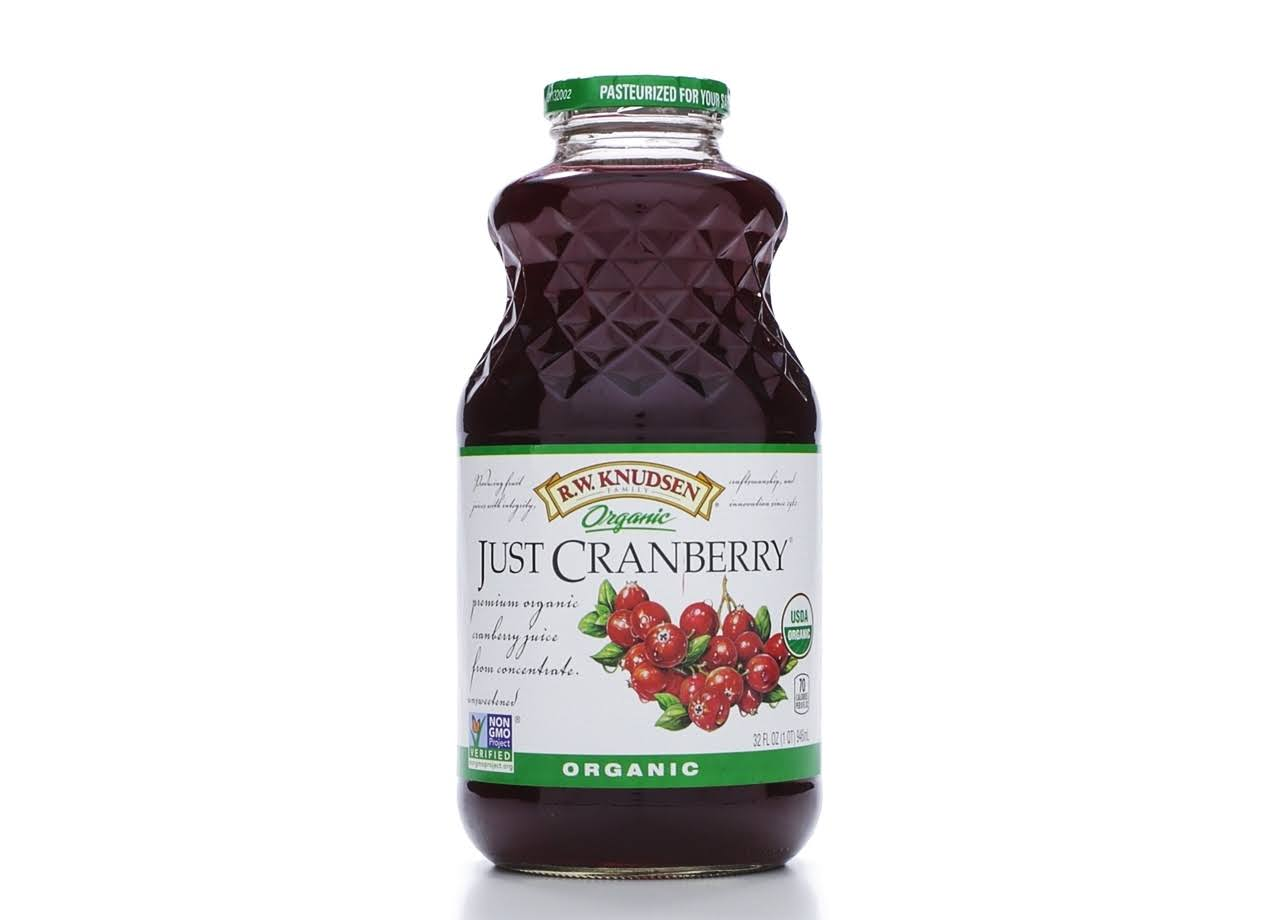 Knudsen Organic Juice - 32oz, Just Cranberry