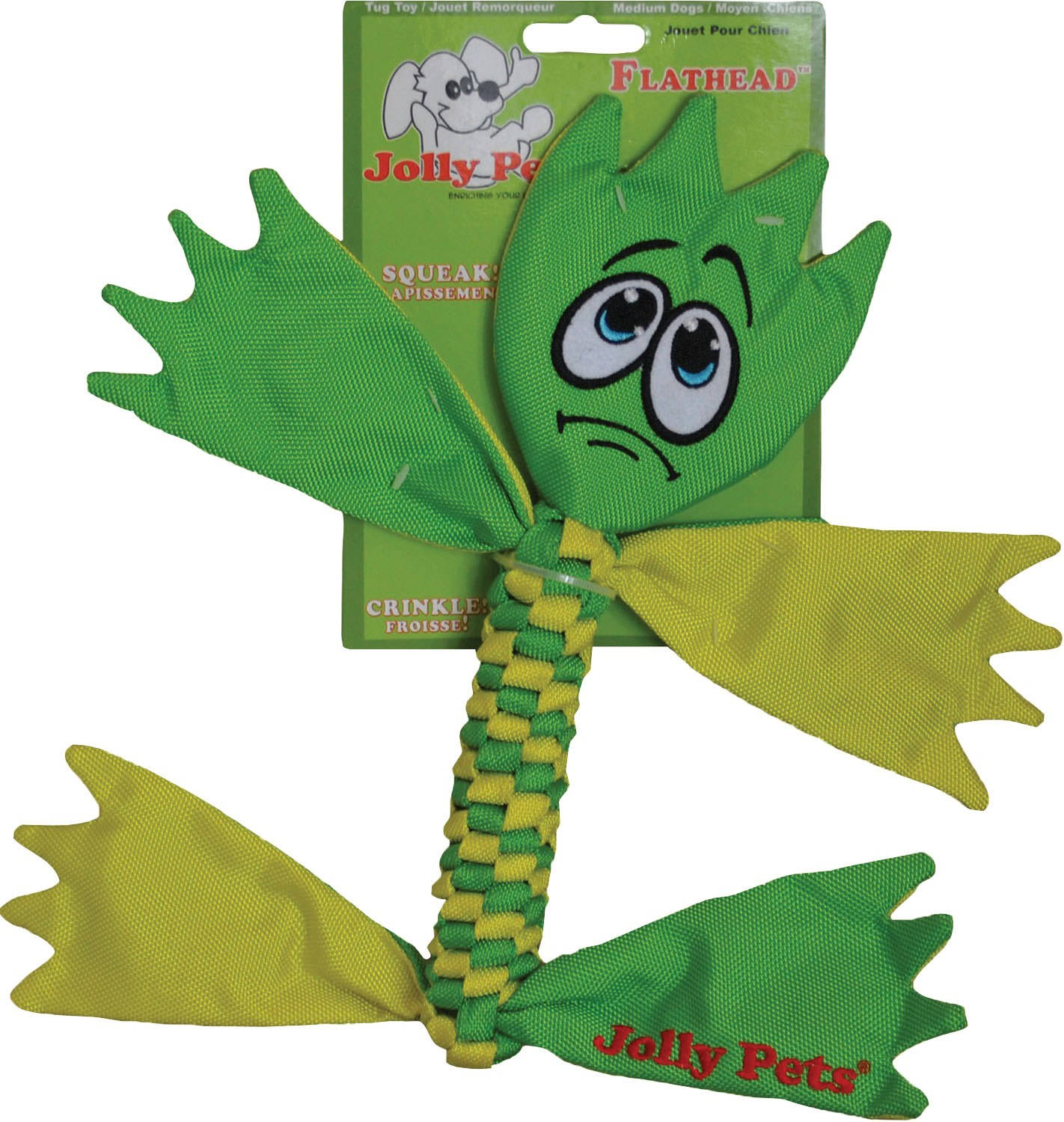 Jolly Pets Flathead Tug Toy - Medium