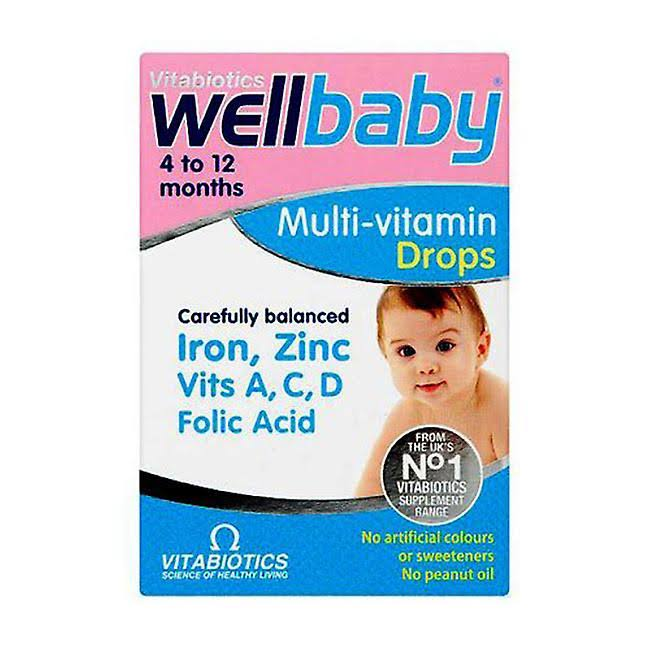 Wellbaby Multi Vitamin Drops - 30ml
