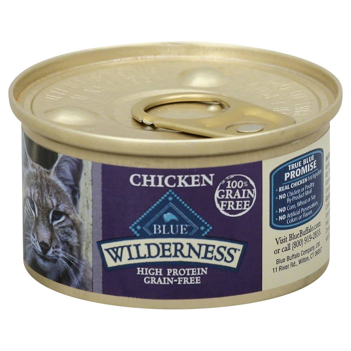 Blue Wilderness Food for Cats - Chicken