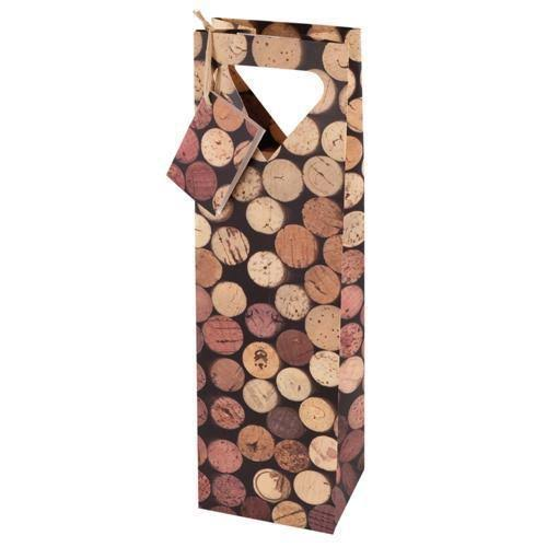 True Fabrications Corks Wine Bag