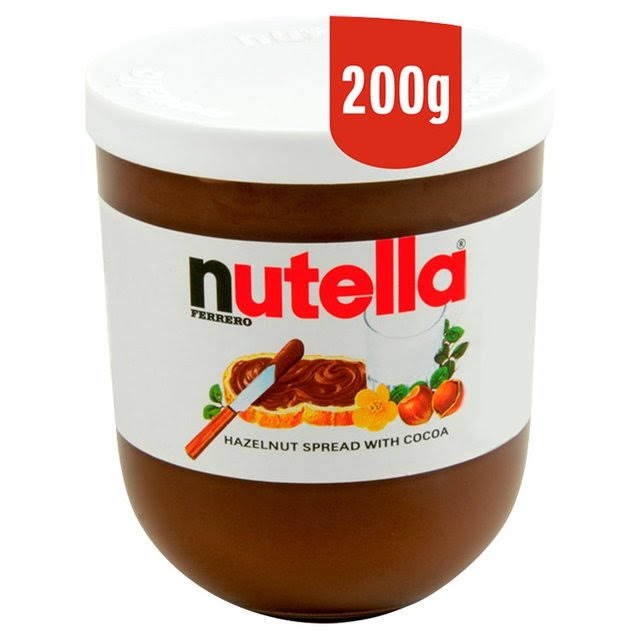 Nutella Hazelnut and Cocoa Spread - 200g