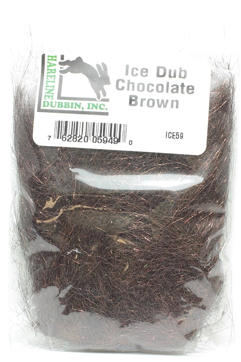 Hareline Ice Dub - Chocolate Brown