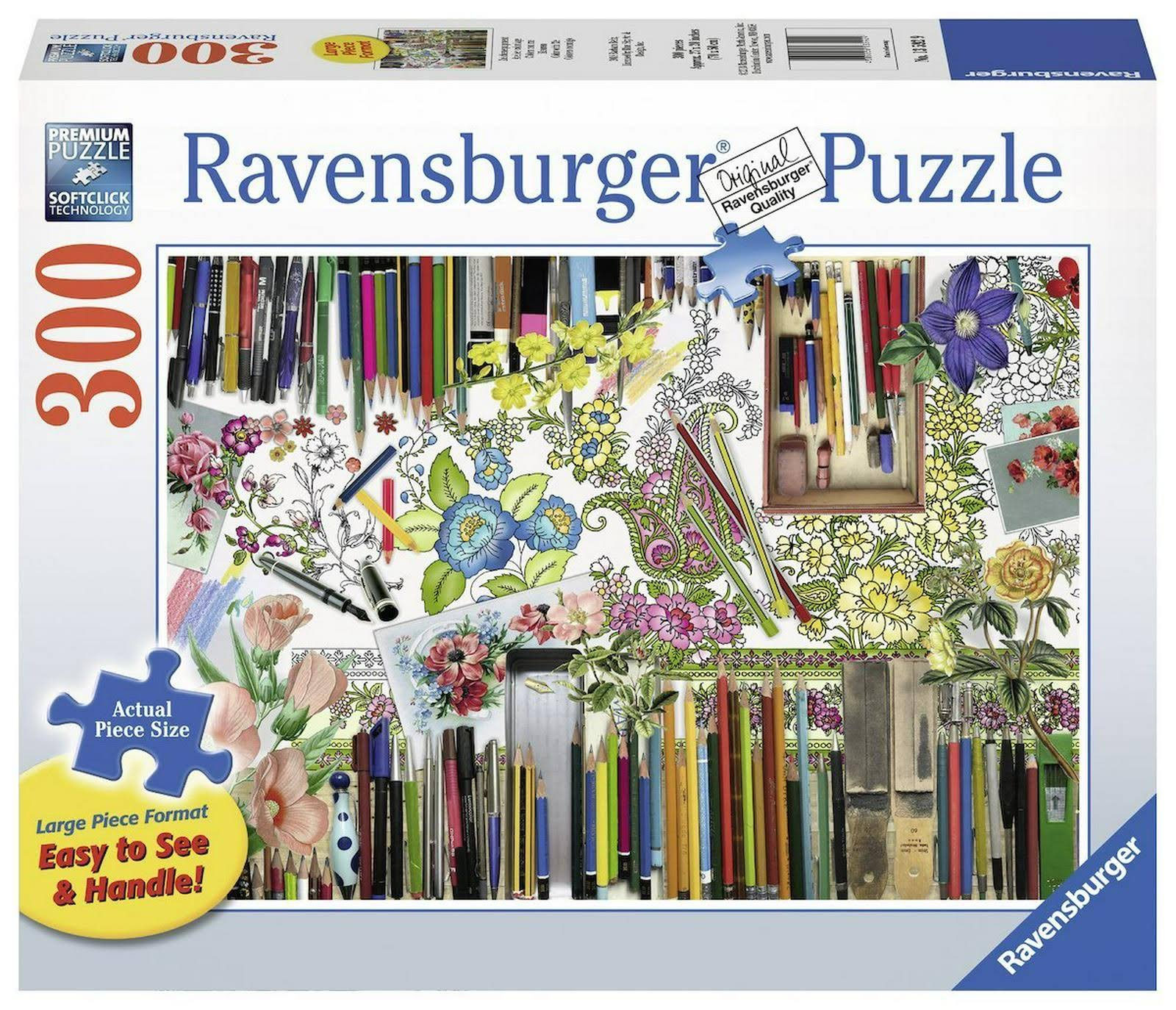 Ravenburger Color with Me Jigsaw Puzzles - 300pc