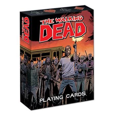 Usaopoly The Walking Dead Playing Cards