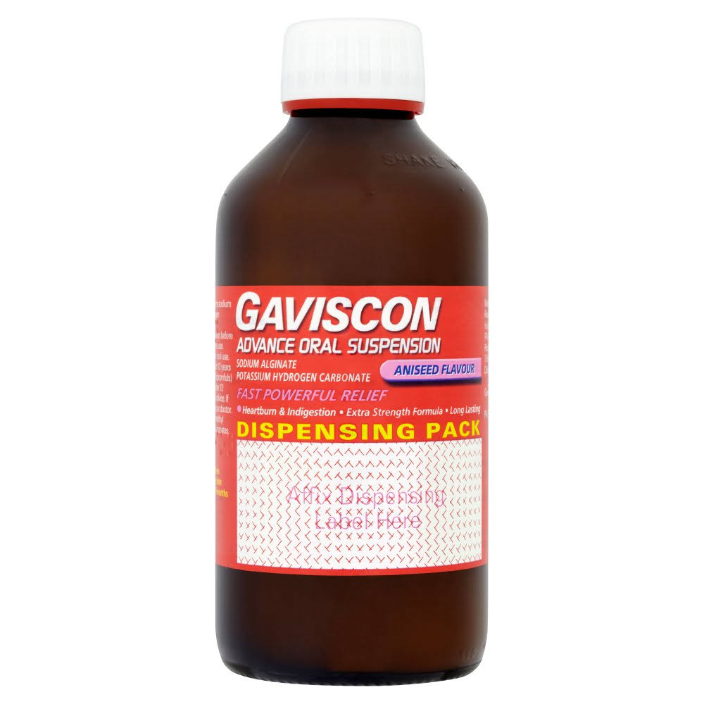 Gaviscon Advance Oral Suspension - Aniseed, 500ml