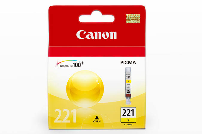 Canon CLI 221 Ink tank, Yellow - 1-pack