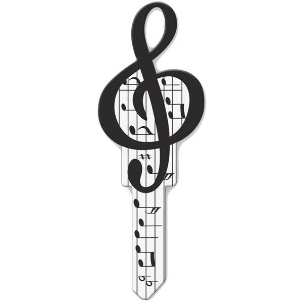 Lucky Line B125S Sc1 Music Blank House Key