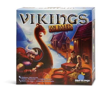 Blue Orange Games Vikings On Board Board Game