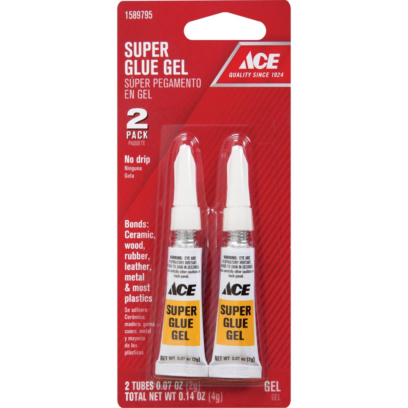 Ace Super Glue Gel - 2 Pack