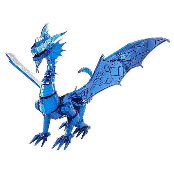 Fascinations ICONX Blue Dragon 3D Metal Model Kit