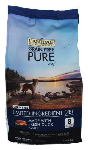 Canidae Grain Free Pure Sky Dry Formula Dog Food - Duck