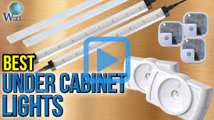 Installing Plug Mold Under Cabinets by Top 10 Under Cabinet Lights Of 2017 Video Review