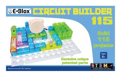 E-Blox Circuit Board Building Blocks - Circuit Blox 115