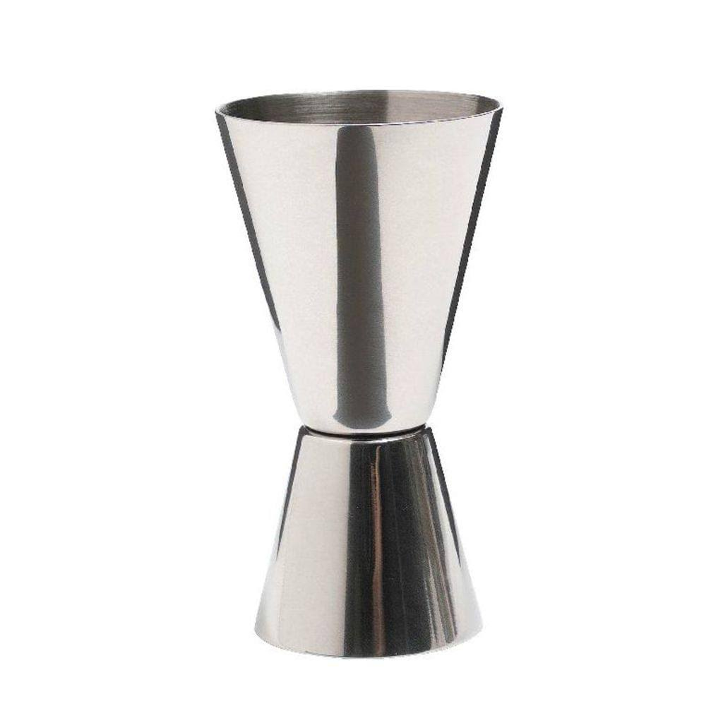 Barcraft Stainless Steel Dual Measure Cup