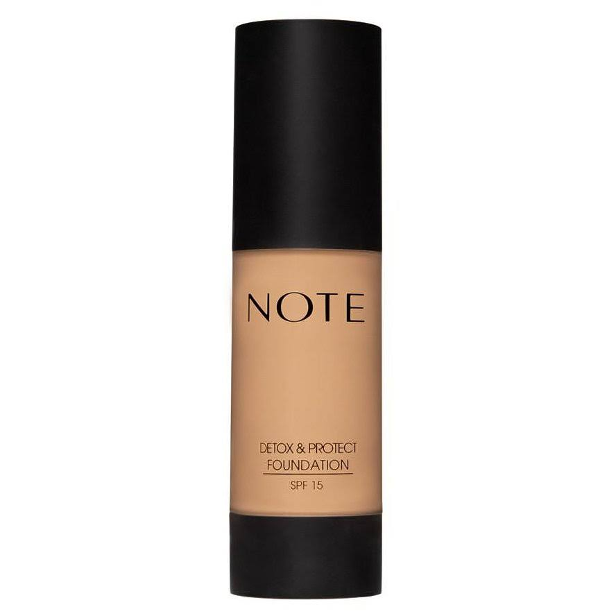 Note Detox & Protect Foundation 05 Honey Beige