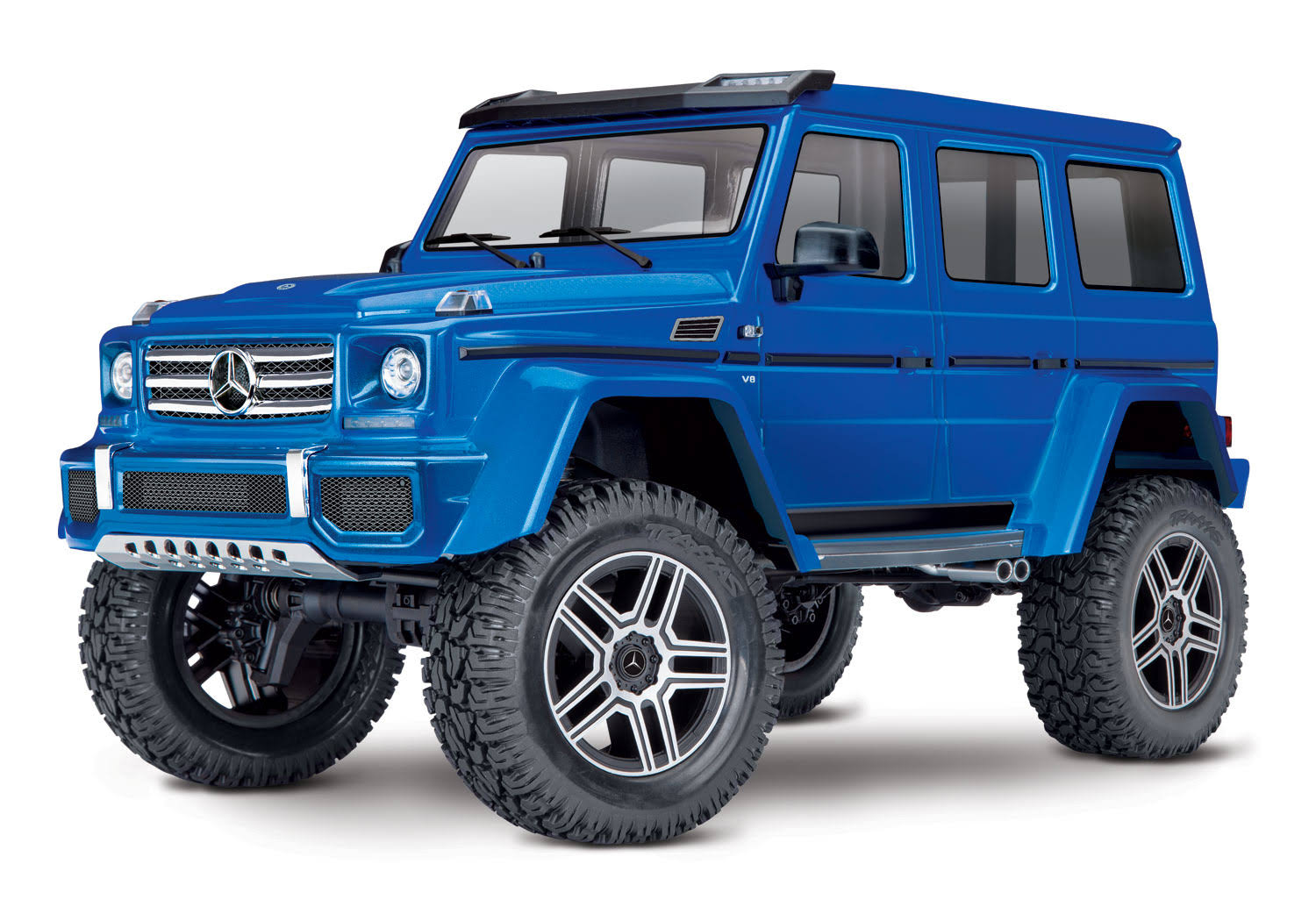 Traxxas TRX-4 Scale and Trail Crawler with Mercedes-Benz G 500