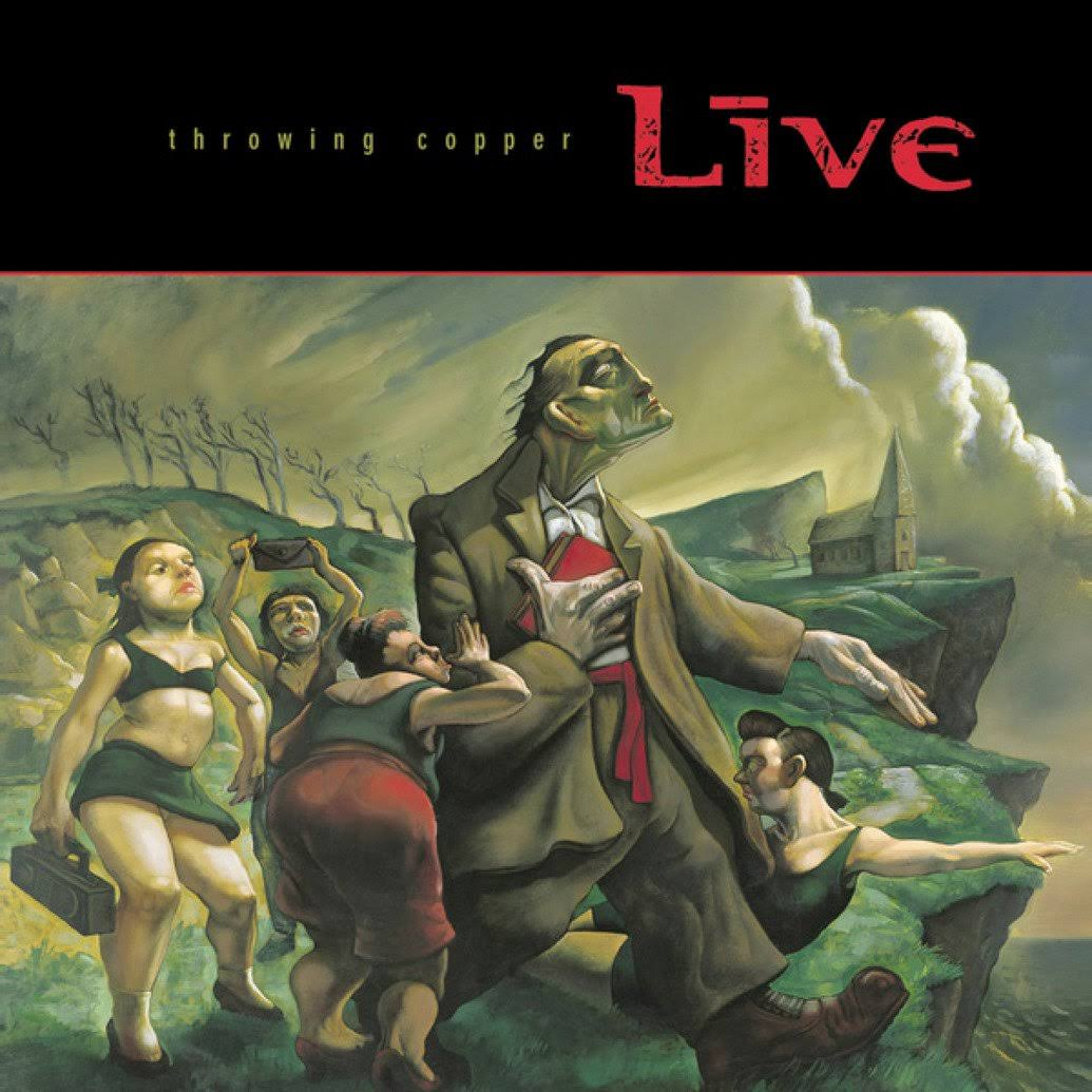 Live - Throwing Copper (cd)