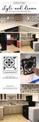 Floor And Decor Santa Ana by Stencils Add Style And Drama To A Kitchen Backsplash Stencil Stories