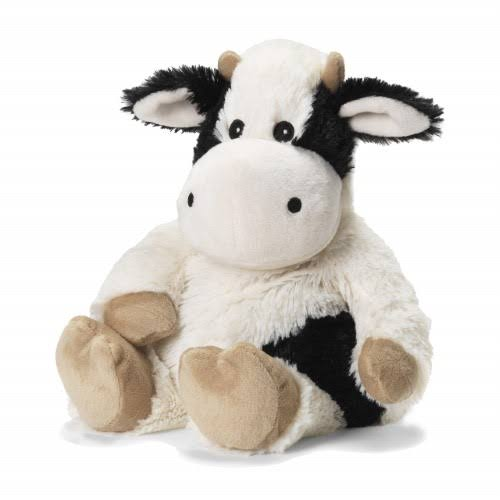 Warmies Microwavable French Lavender Scented Plush Black and White Cow