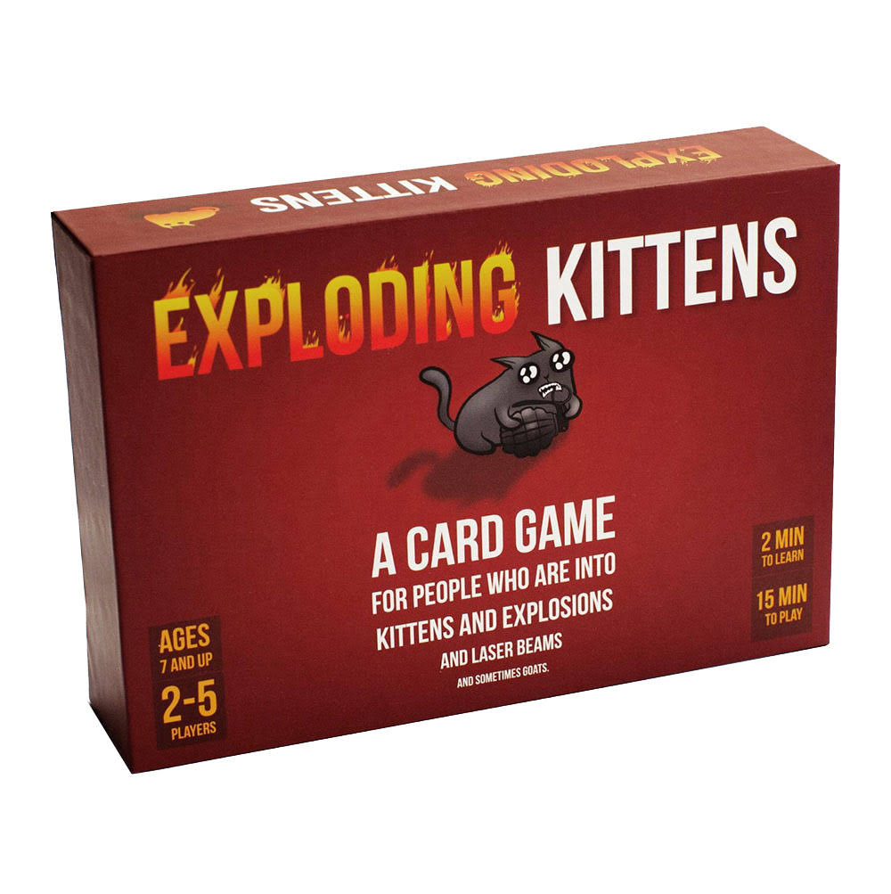 Exploding Kittens Strategy Card Game