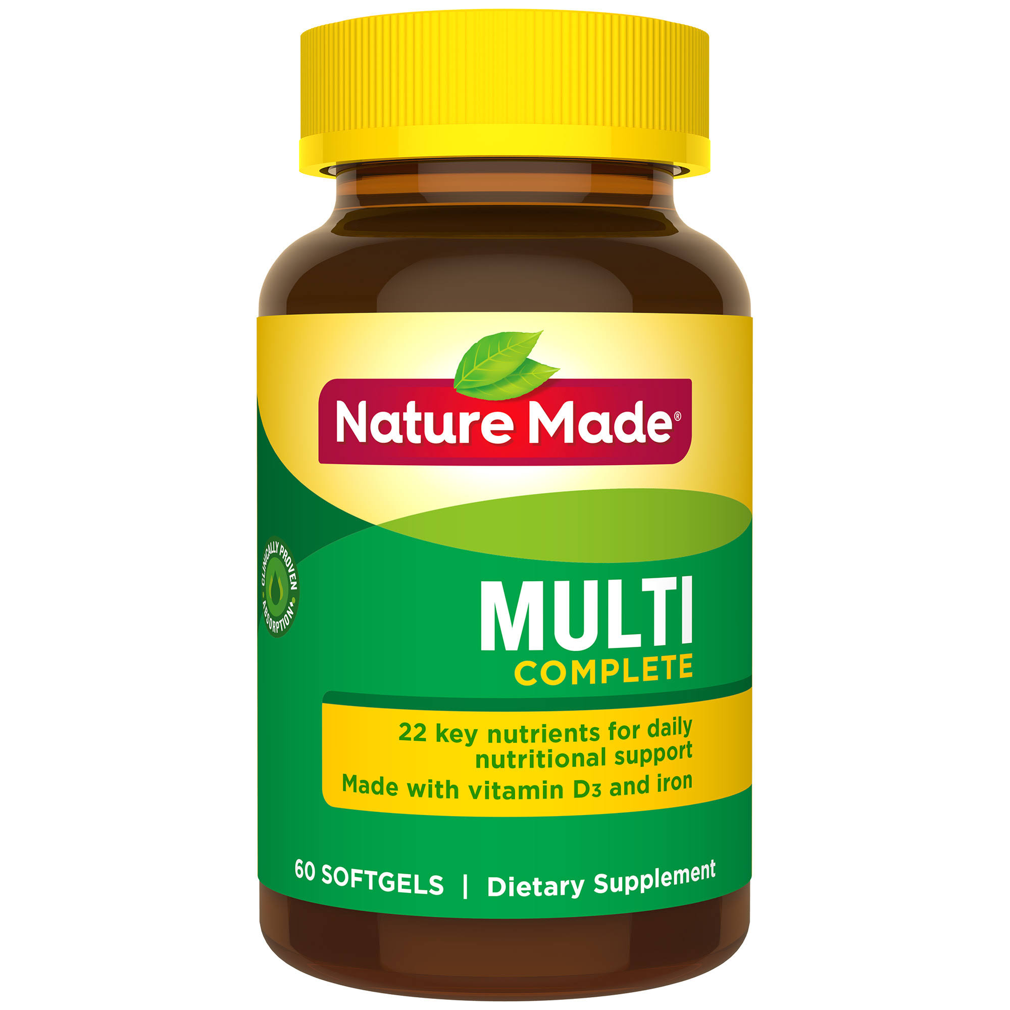 Nature Made Multi Complete Dietary Supplement - 60ct