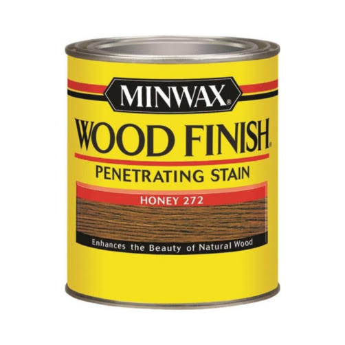 Minwax Oil-Based Interior Stain Wood Finish - Honey 272, 1qt
