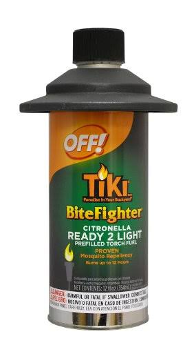 OFF! TIKI Bitefighter Ready 2 Light Torch Fuel