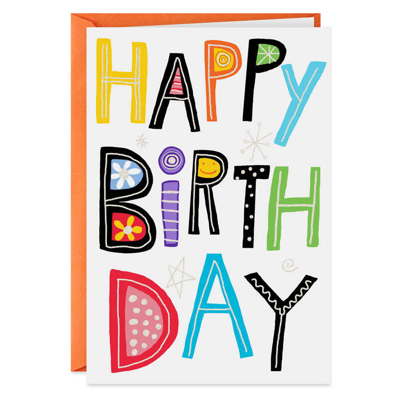 Happy Birthday to You Birthday Card