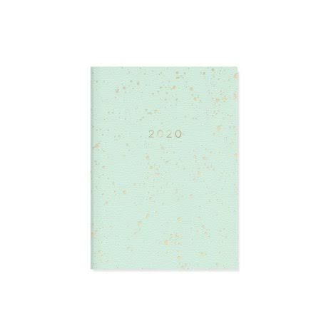 Fringe Studio Calendars Mint Splatter Monthly Planner with High Quality Paper - Full Color Pages - 17 Months