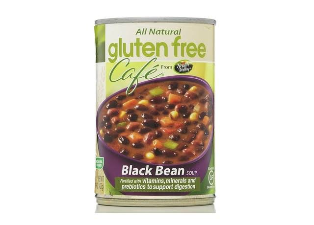 Gluten Free Cafe Soup, Black Bean - 15 oz