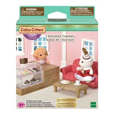 Calico Critters Town Girl Series: Chocolate Lounge