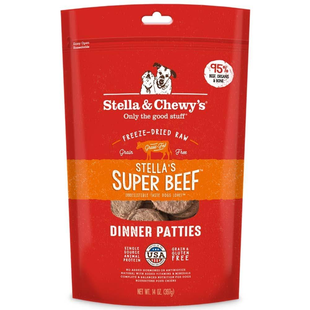 Stella & Chewy's Freeze Dried Dinner Patties - Stella's Super Beef, 16oz