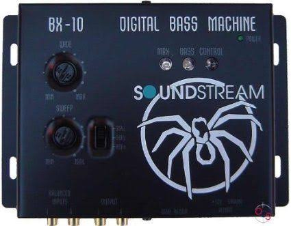 Soundstream BX-10 Digital Bass Reconstruction Processor - with Remote