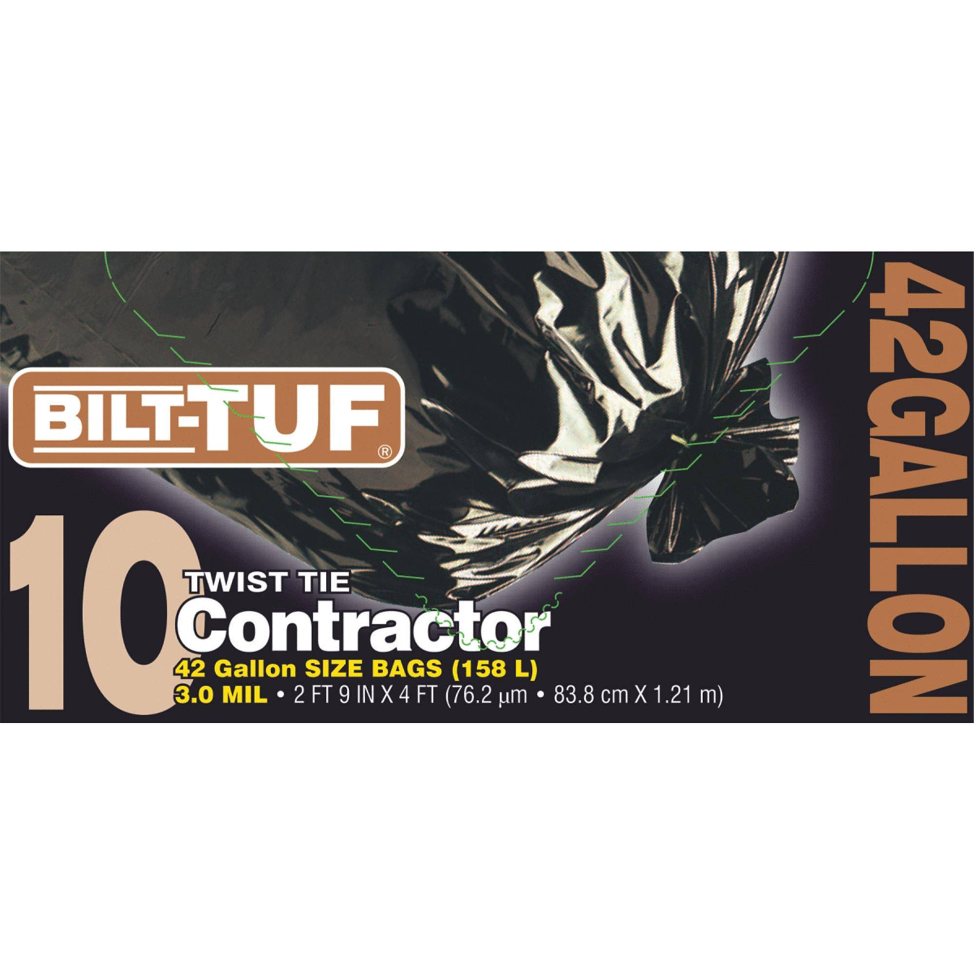 Bilt-Tuf Contractor Trash Bag (Pack of 6)