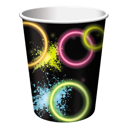 Creative Converting Glow Party Paper Cups - 8pk, 9oz