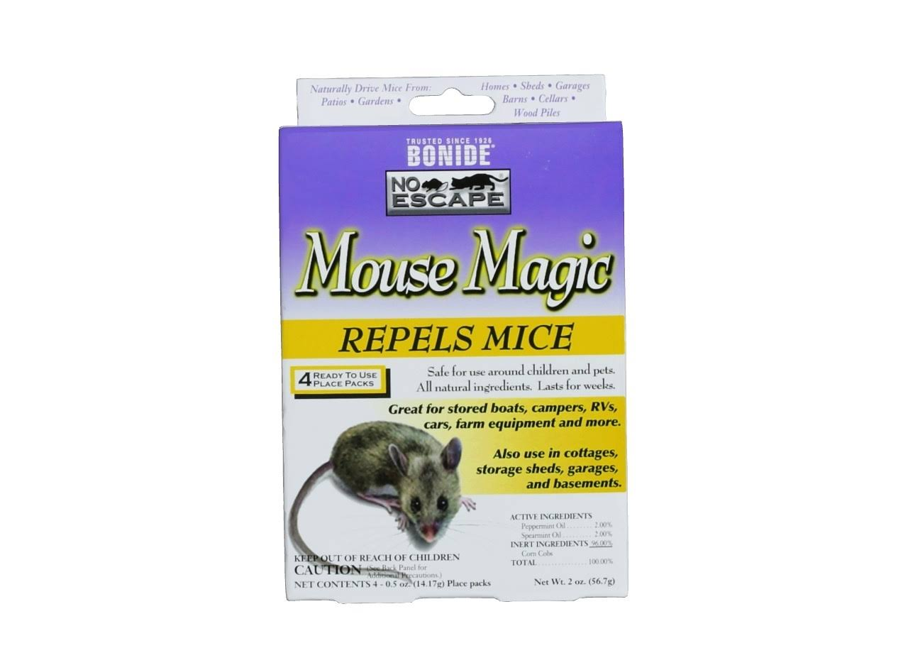 Bonide 865 No Escape Magic Mouse Repellent - 2oz