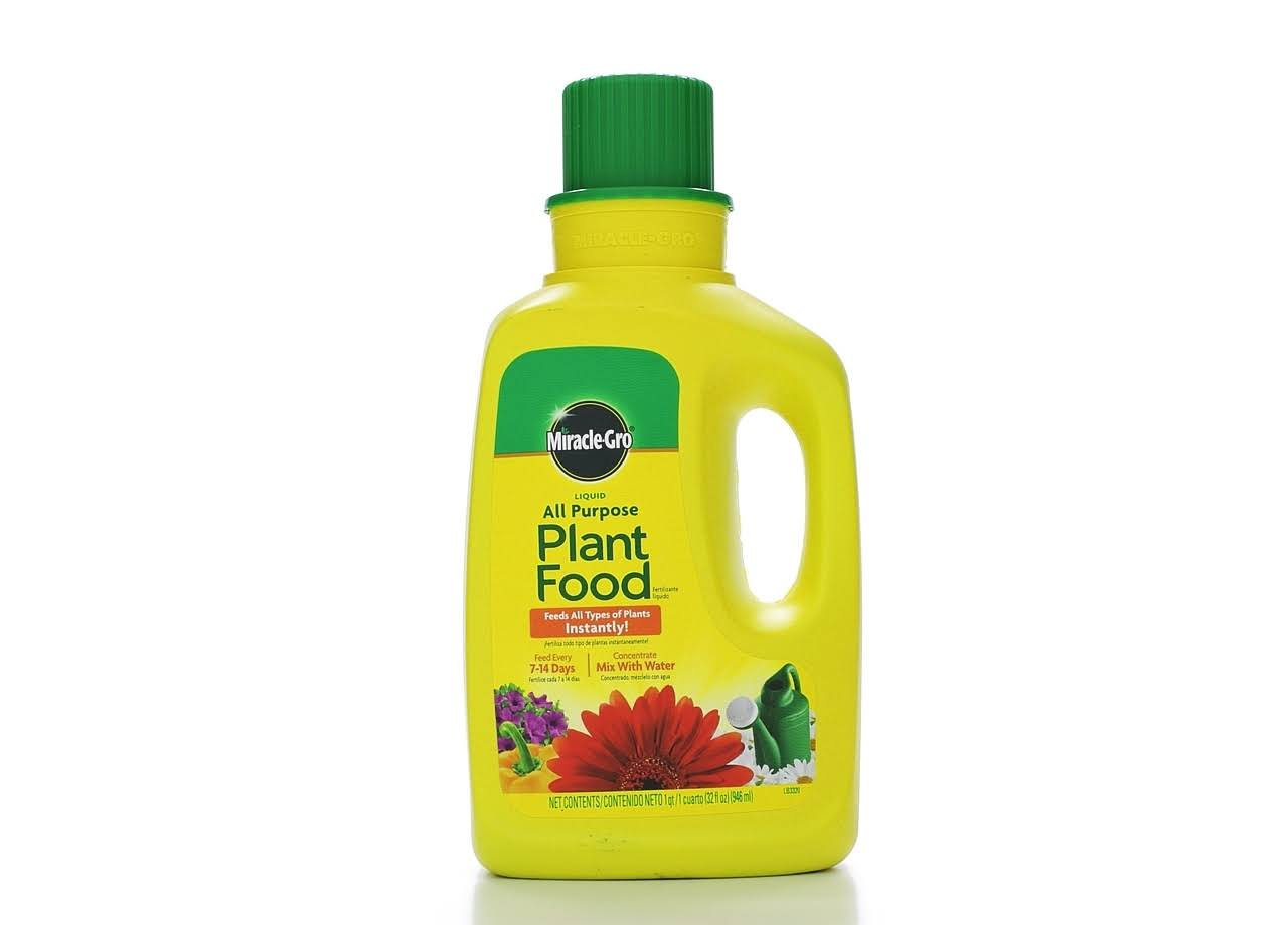 Miracle-Gro Liquid All Purpose Plant Food Concentrate - 946ml