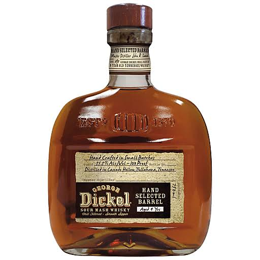 George Dickel 9 Year Old Hand Crafted Whiskey - 750 ml bottle