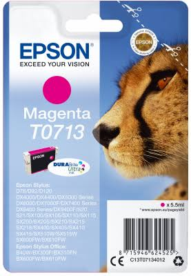 Epson Ink Cartridge - Magenta, 5.5ml