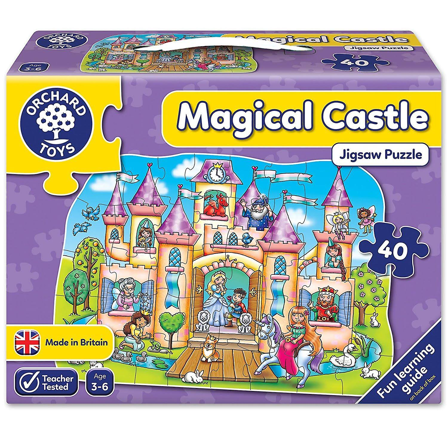 Orchard Toys Magical Castle Shaped Floor Puzzle