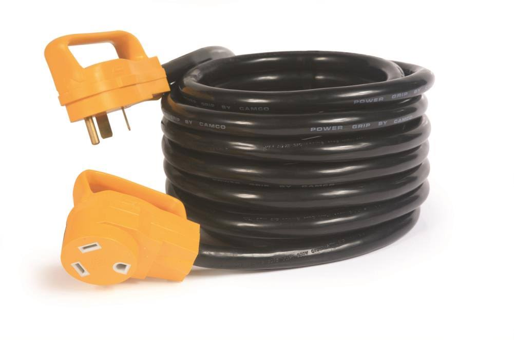 Camco 55191 PowerGrip Electrical Power Cord with Handle - 25'