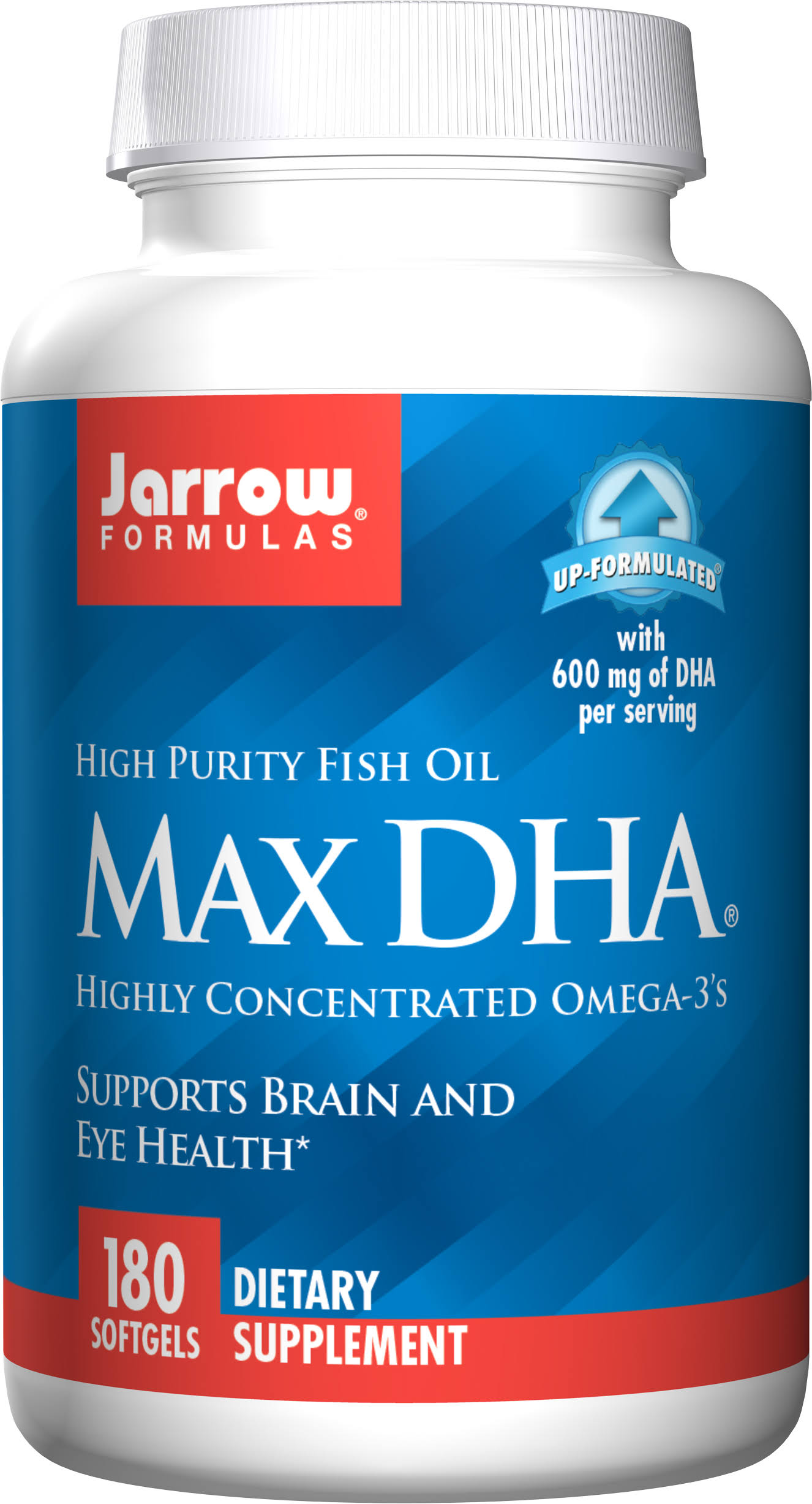 Jarrow Formulas Max DHA - 400mg, 180 Softgels