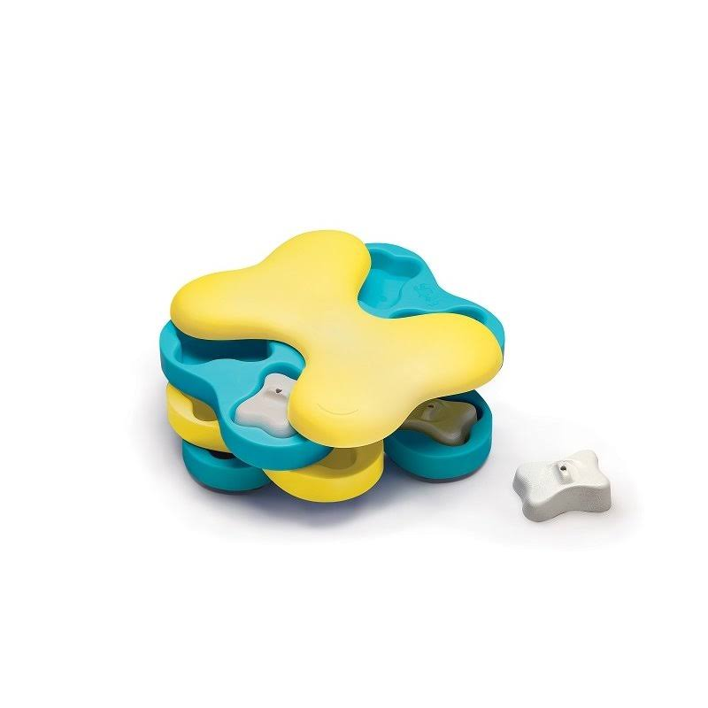 Nina Ottosson Dog Tornado Treat Dispensing Brain and Exercise Game Dog Toy
